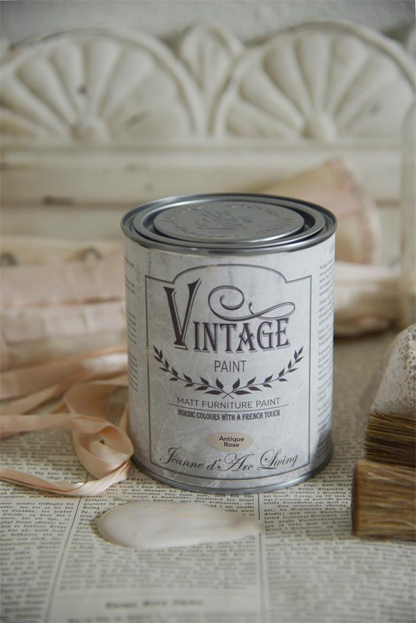JDL Vintage Paint Kalkfarbe Antique Rose 100 ml
