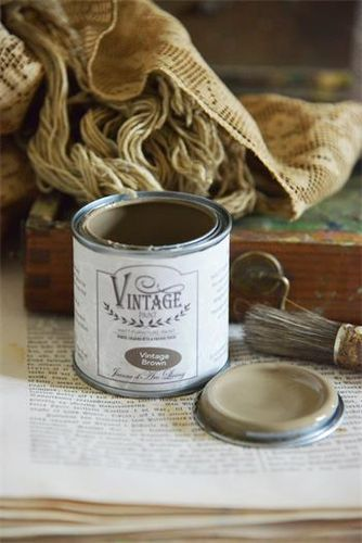 JDL Vintage Paint Kalkfarbe Vintage Brown 100 ml