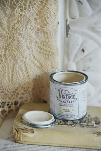 JDL Vintage Paint Kalkfarbe Vintage Cream 100 ml