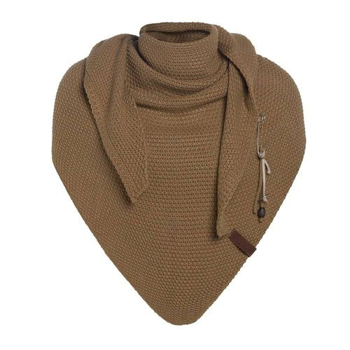 NEW  * Knit Factory - Dreiecksschal COCO in New Camel - 190 x 85 cm