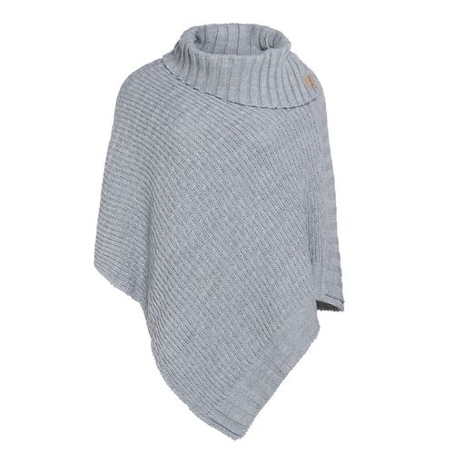NEW  * Knit Factory - NICKY Poncho in Grau  - ONE SIZE