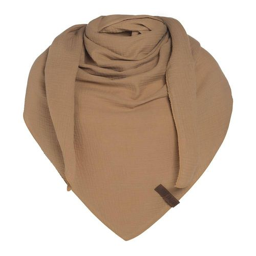 NEW * Knit Factory - LIV Dreieckstuch - 190 x 85 cm - in New Camel